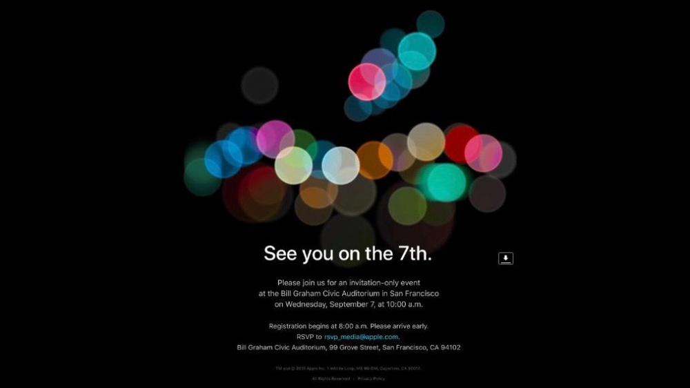 Apple anuncia data de lançamento do iPhone 7 — É oficial