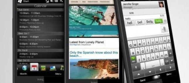 HTC: em breve HD3, Desire HD e um novo tablet Android ...