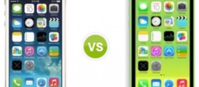 Iphone 5c vs 5s ficha tecnica