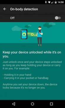 Google ativa Smart Lock que detecta quando você está o Android na mão [ NEXUS 4]